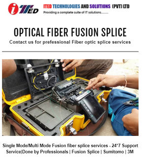 Fusion Splice at ITED