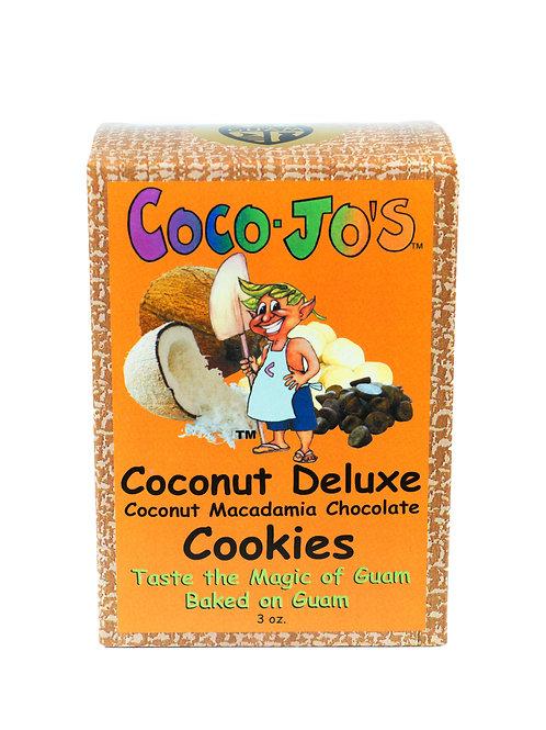 Coconut Deluxe Cookies 3oz