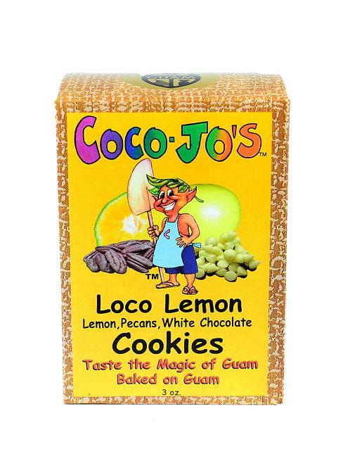 Loco Lemon  Cookies 3oz
