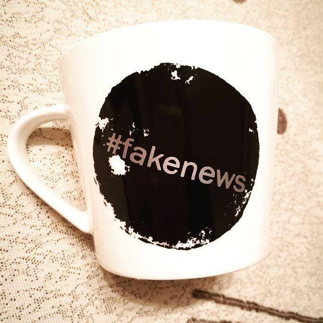 #fakenews #kaffekopp #coffeemug #birildesign #custom
