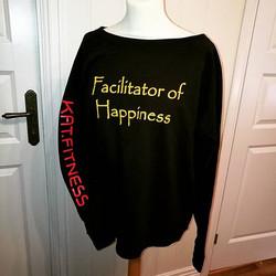 #katfitness #facilitator of #happiness #birildesign _kathrynfowles #sweatshirt #sweats #kosegenser #
