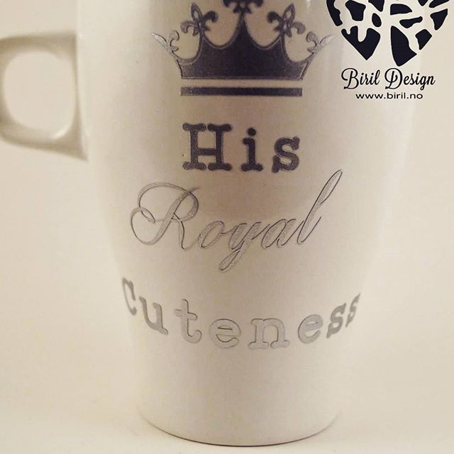 #royal #cuteness #cup #BirilDesign #tilsalgs