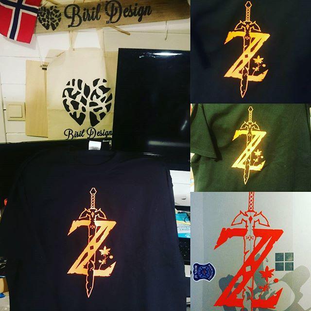 Zelda t-skjorte til alle blodfansene der ute _-) #zelda #link #sword #epic #game #birildesign #aweso