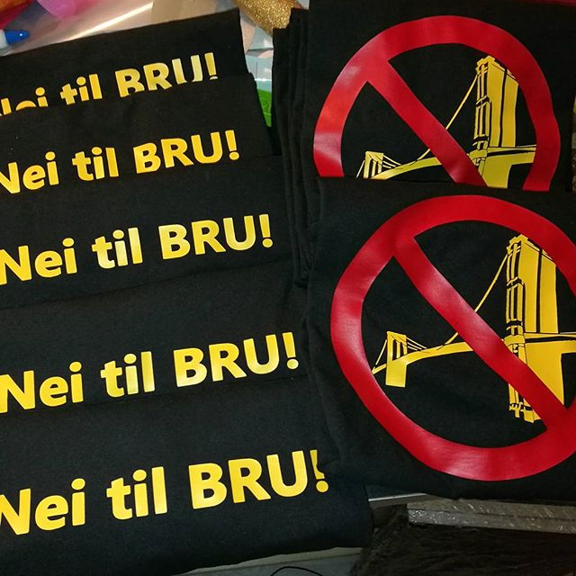 Nei til bru! #protest #søreøyane #naturperle #ikkerør #osøyro #birildesign