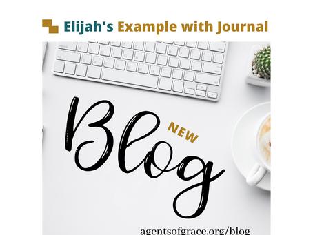 Elijah's Example with Journal