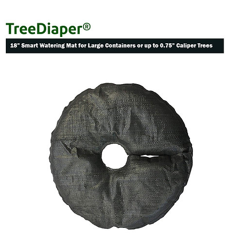 """TreeDiaper 18"""" Smart Watering Mat for up to 0.75"""" Caliper Trees - Large Planters"""