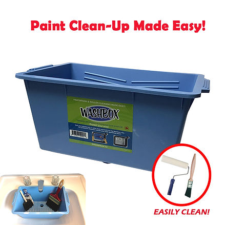 Washbox Paint Tray Paint Cleanup Smart Spring