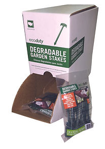 Retail PDQ Packaging for Stakes