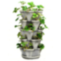 Mr Stacky vertical garden stackable garden
