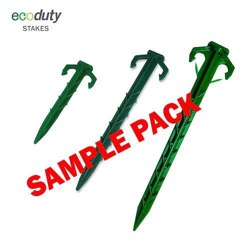 Ecoduty Stake Sample Pack