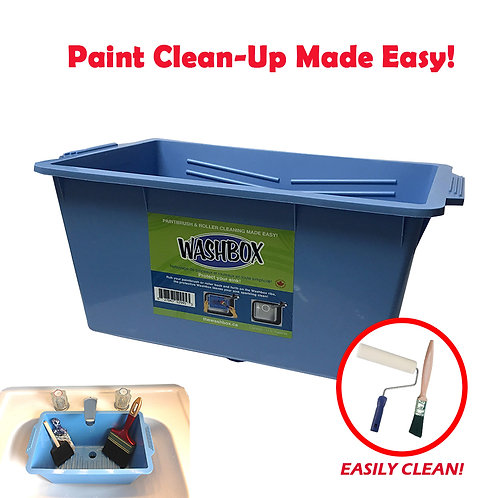 The Washbox - Paint Cleanup Made Easy!