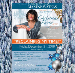 Congresswoman Waters Party