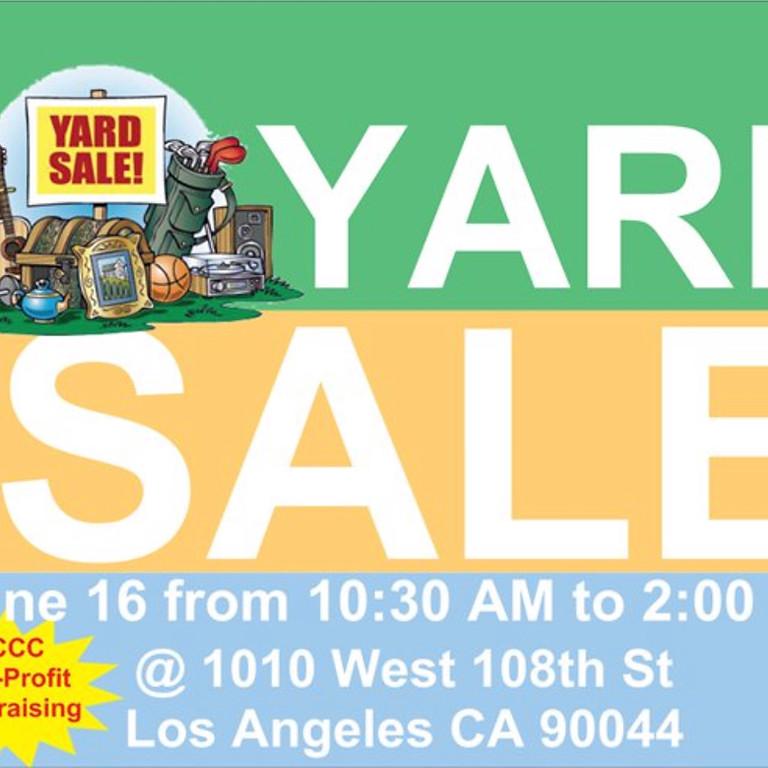 Fundraising Yard Sale