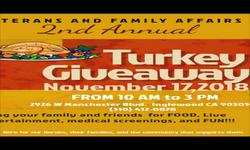Turkey Giveaway 2018