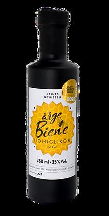 arge Biene Honiglikör mit Gin