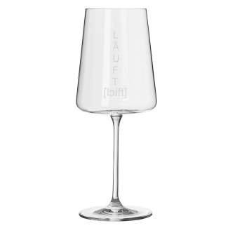 """Weinglas """"Läuft"""" RÄDER Design"""