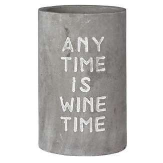 """Weinkühler """"any time is wine time"""""""