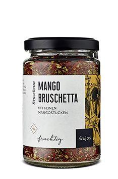 Mango Bruschetta