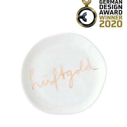"Teller ""Hüftgold"" RÄDER Design"