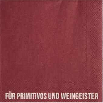 """Cocktailserviette """"Für Primitivos"""" RÄDER Design"""