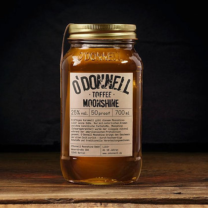"""O'Donnell Moonshine """"Toffee"""" 700ml"""