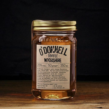 """O'Donnell Moonshine """"Toffee"""" 350ml"""