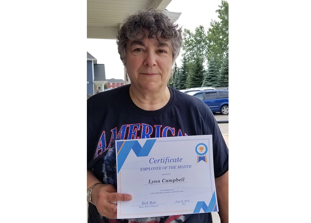 Employee of the Month ~ Lynn Campbell