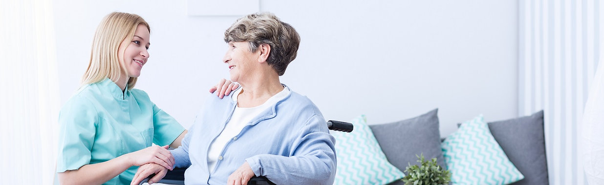 Caregivers help people maintain independence