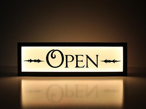 Vintage Open Sign