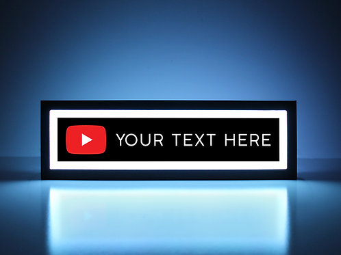 Custom YouTube Sign