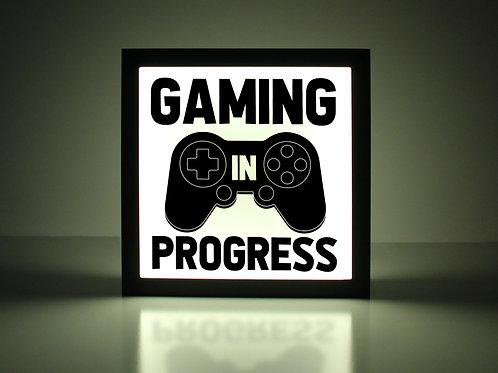 Gaming In Progress PlayStation Sign