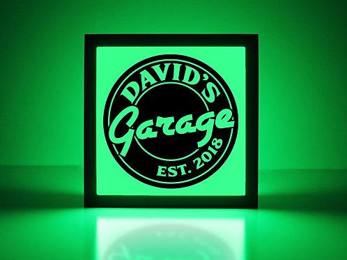 Custom Garage Sign
