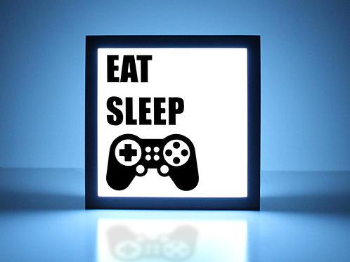 Eat Sleep PlayStation Sign
