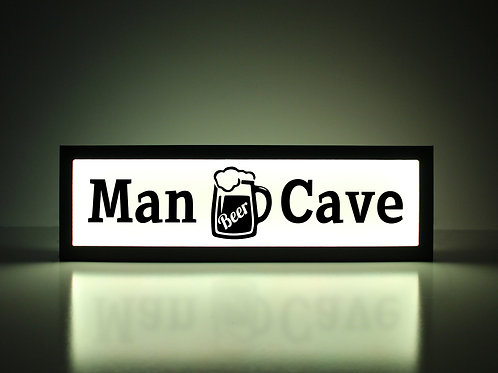 Man Cave Sign - Beer Mug