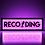 Thumbnail: Recording Mic Sign