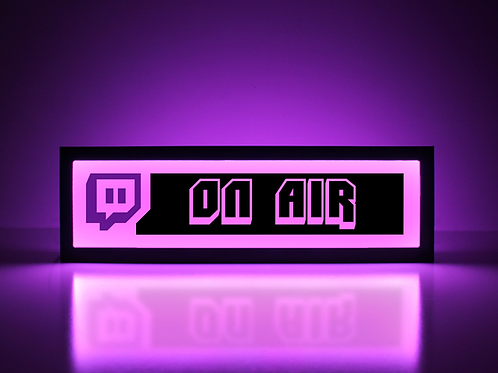 Twitch On Air Sign