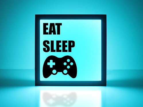 Eat Sleep Xbox Sign