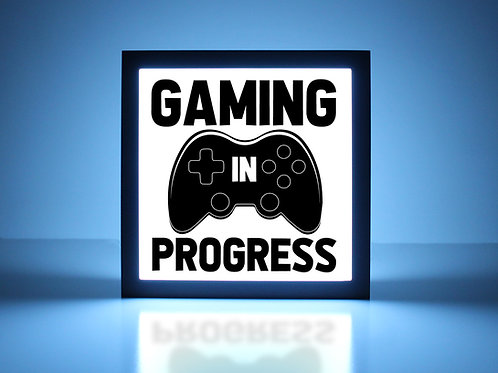 Gaming In Progress XBox Sign