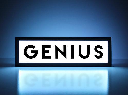 Genius Sign