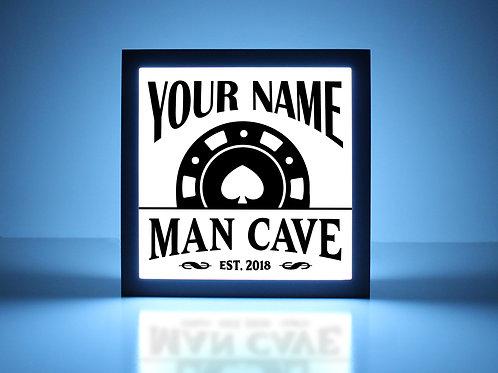 Poker Man Cave Sign