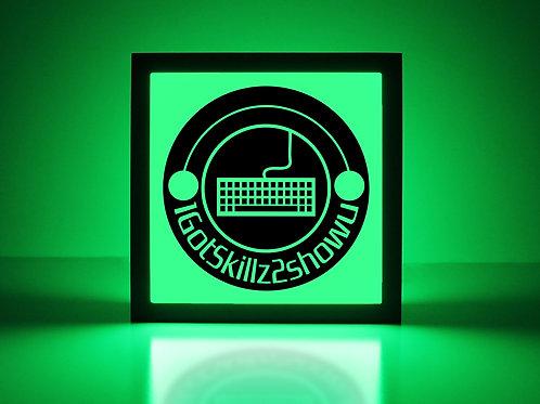 Custom PC Gaming Sign - Keyboard