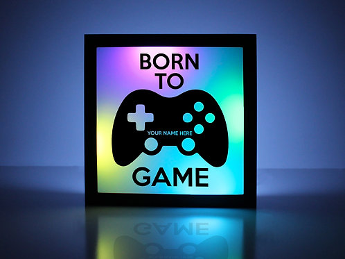 Born to Game Xbox Sign