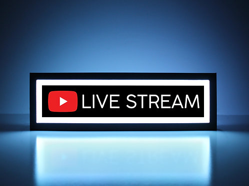 YouTube Live Stream Sign
