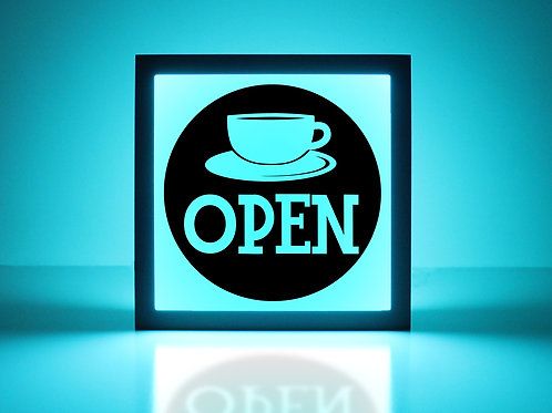 Coffee Open Sign