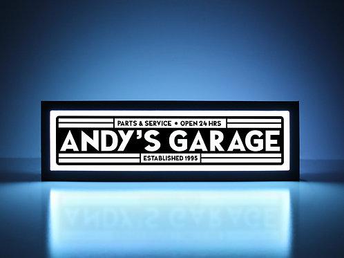 Custom Garage Sign - Parts & Service