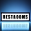 Thumbnail: Restrooms Sign