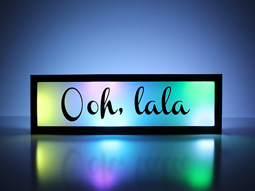 Ooh, LaLa Sign
