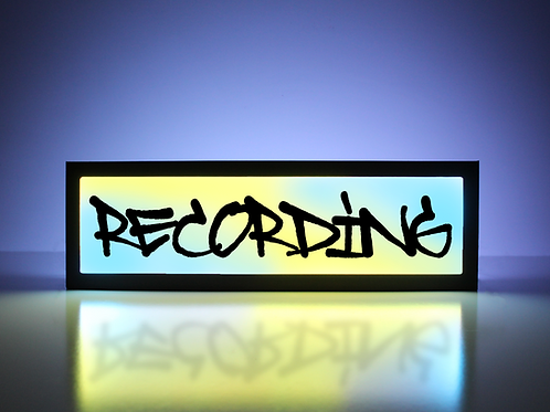 "Recording ""Graffiti"" Sign"
