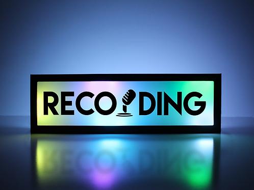 Recording Mic Sign