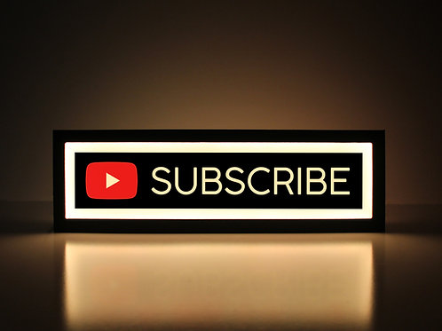 YouTube Subscribe Sign
